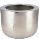 Metal bucket Dagur, D24cm, H19cm, silver
